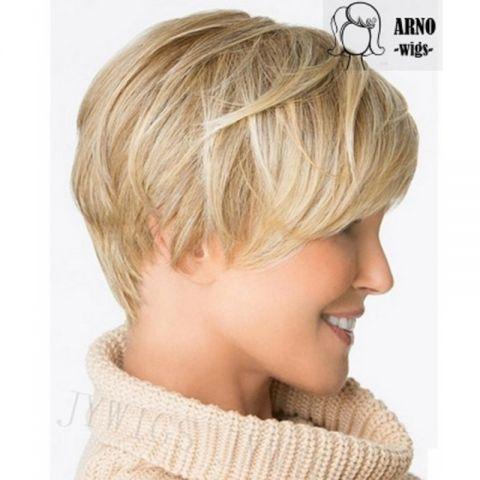ebc7f532fd0 Krátká blond paruka Daisy. PŘÍČESY ...